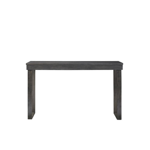 Powell Kyler Dining Console Table in Grey