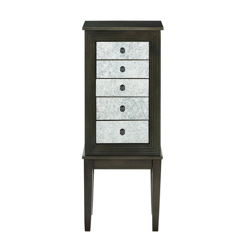 Powell Larrin Jewelry Armoire in Dusk Shimmer