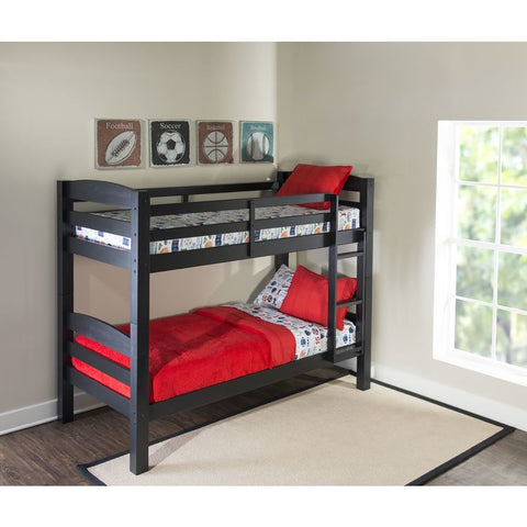 Powell Levi Bunk Bed in Black