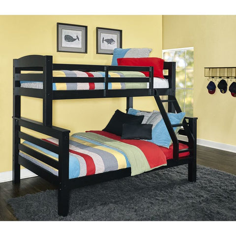 Powell Levi Twin Full Bunk Black