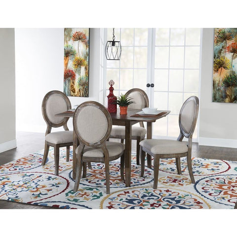 Powell McKenzie 5 Piece Dining Set