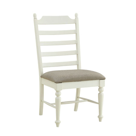 Powell Slater Side Chair in White - Set of 2