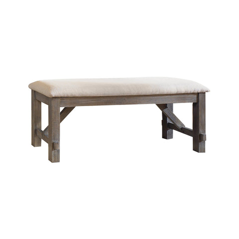 Powell Turino Dining Bench in Grey Oak