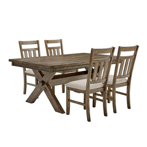 Powell Turino Rustic Umber 5PC Dining Set