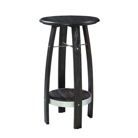 Powell Tuvia Plant Stand in Rustic Dark Brown