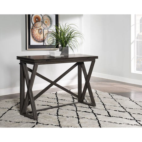 Powell Vance Pub Table in Grey