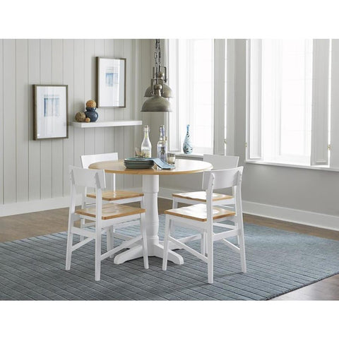 Progressive Christy 5 Piece Round Dining Set