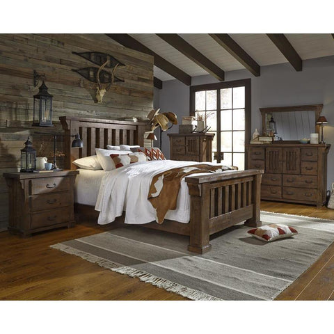 Progressive Forrester Slat Bedroom Set
