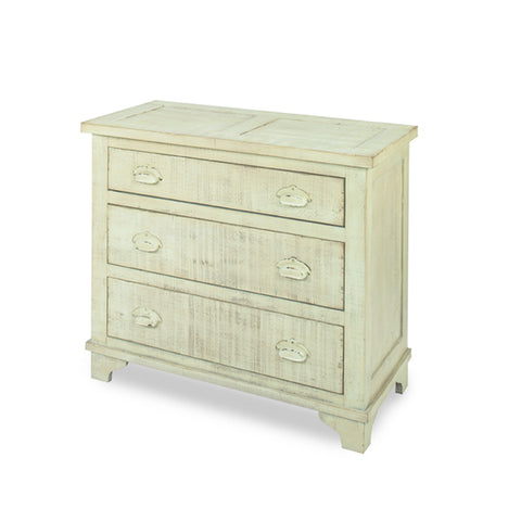 Progressive Furniture Camryn Industrial Chest in Mint Green