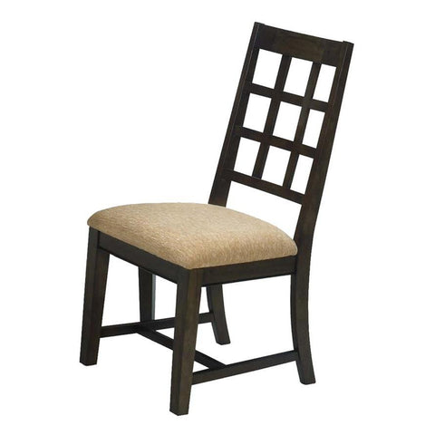 Progressive Furniture Casual Traditions Side Chairs in Walnut
