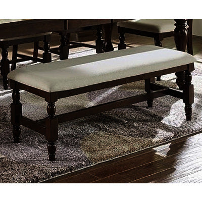 Progressive Furniture Sanctuary Dining Bench in Cherry