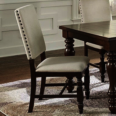 Progressive Furniture Sanctuary Dining Chair in Cherry