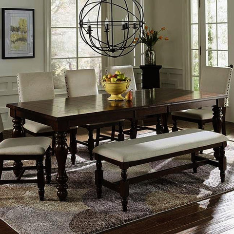 Progressive Furniture Sanctuary Dining Table in Cherry