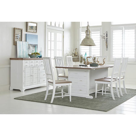 Progressive Shutters 7 Piece Dining Set
