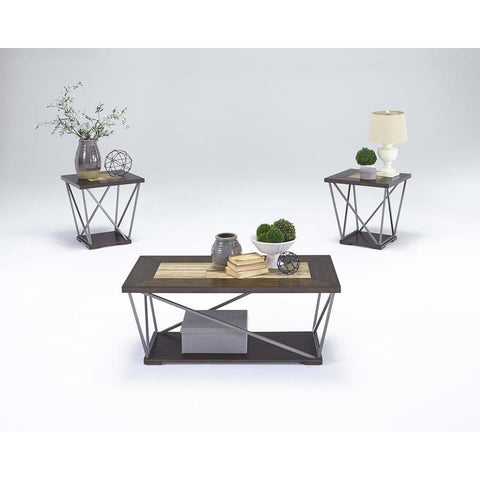 Progressive South Bay  Cocktail & 2 End Tables