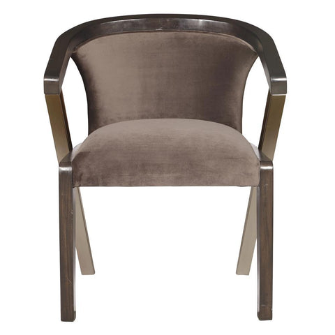Pulaski Accent Dining Chair in Brown