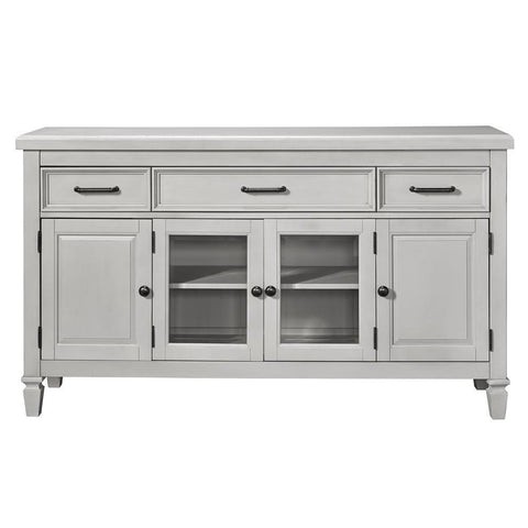 Pulaski Ashwell Grey Sideboard in Grey