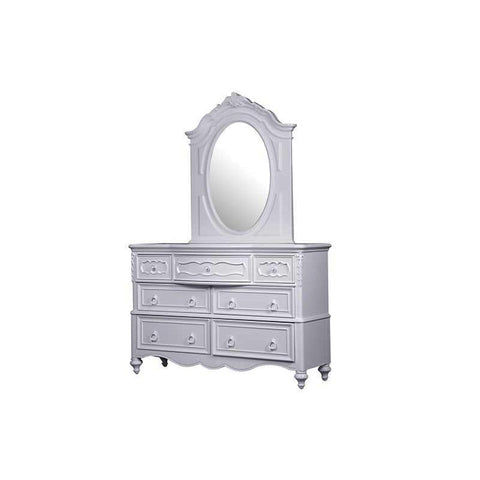 Pulaski Ava Drawer Dresser w/Mirror