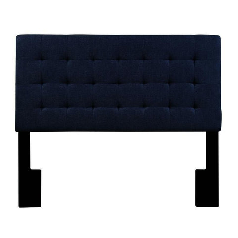 Pulaski Biscuit Tuft Full / Queen Upholstered Headboard in Denim Darkwash