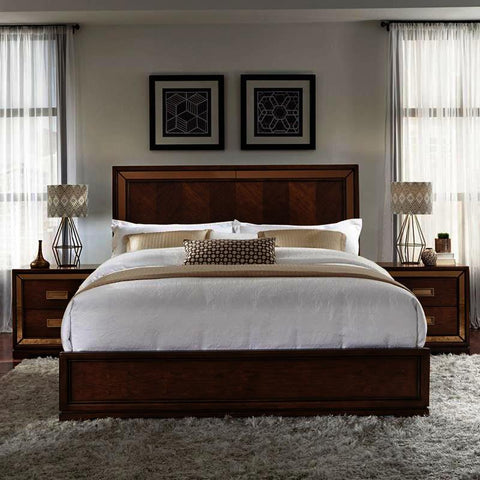 Pulaski Chrystelle 3 Piece Platform Bedroom Set