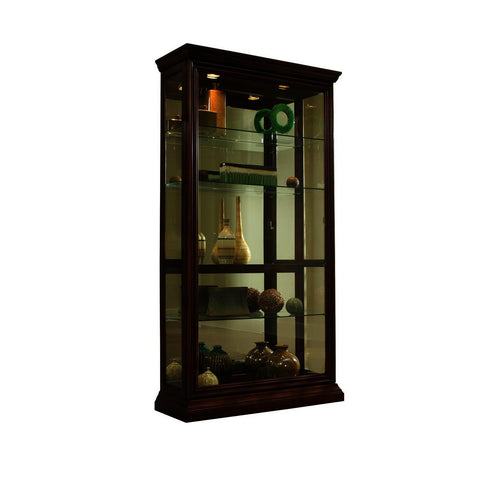 Pulaski Eden House Mirrored Two Way Sliding Door Curio