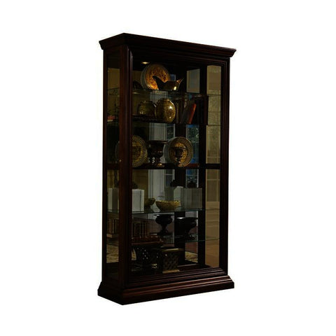 Pulaski Edwardian Two Way Sliding Door Curio