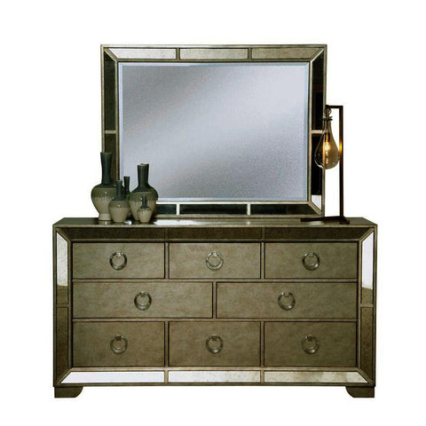 Pulaski Farrah Dresser w/Mirror in Metallic