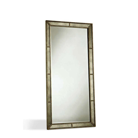 Pulaski Farrah Floor Mirror in Metallic