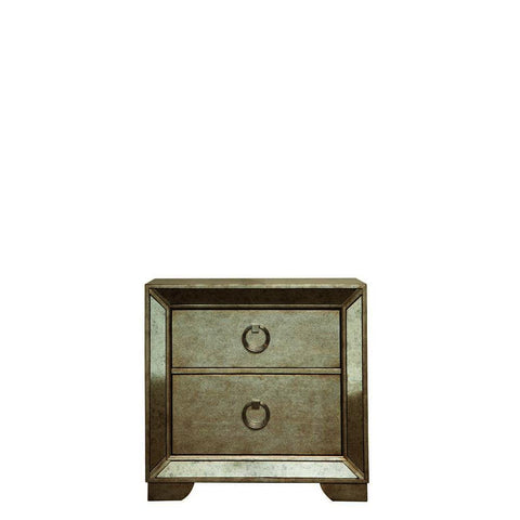 Pulaski Farrah Nightstand in Metallic