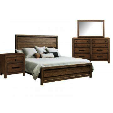 Pulaski Flatbush 3 Piece High Low Platform Bedroom Set