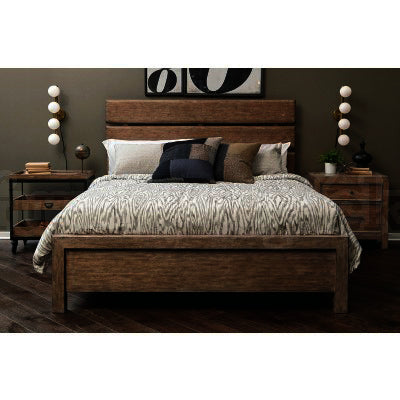 Pulaski Flatbush 3 Piece Plank Style Platform Bedroom Set