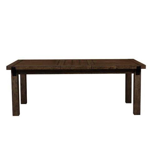 Pulaski Flatbush Metal Bracket Leg Dining Table