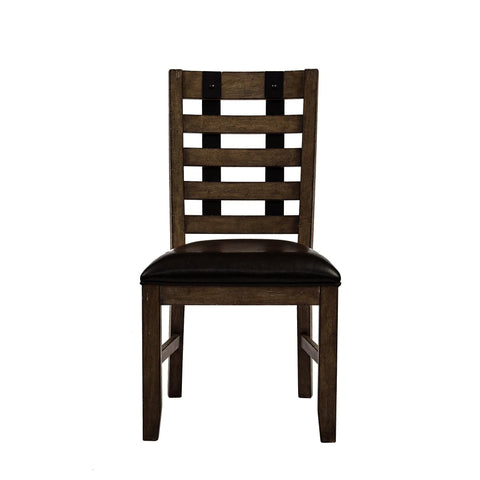 Pulaski Flatbush Metal Strap Side Chair