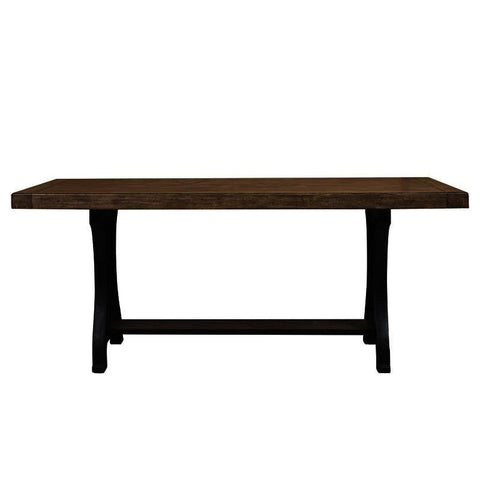 Pulaski Flatbush Plank Double Pedestal Gathering Table