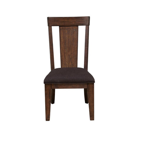 Pulaski Henna Dining Side Chair in Brown