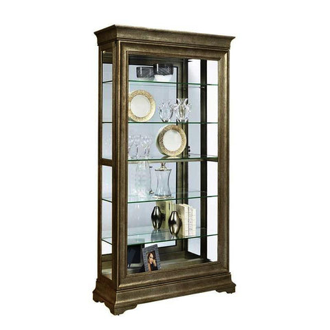 Pulaski Lyon Two Way Sliding Door Curio