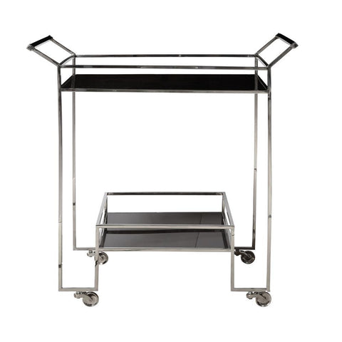 Pulaski Naya Steel Bar Cart
