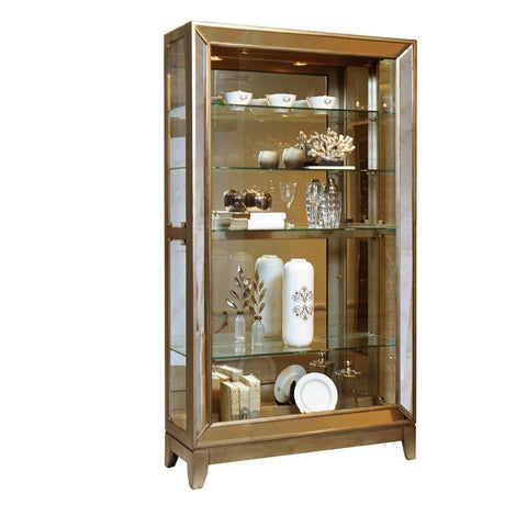 Pulaski Platinum Antique Mirrored Curio