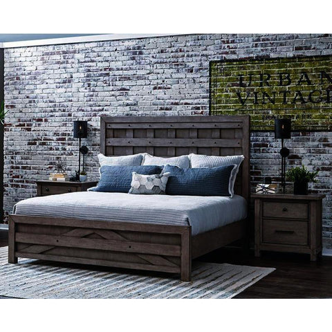 Pulaski Prospect Hill 3 Piece Pallet Platform Bedroom Set