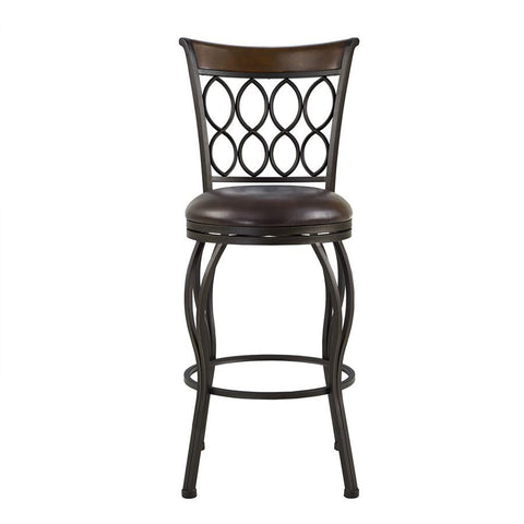 Pulaski Ringed Back 2-in-1 Barstool