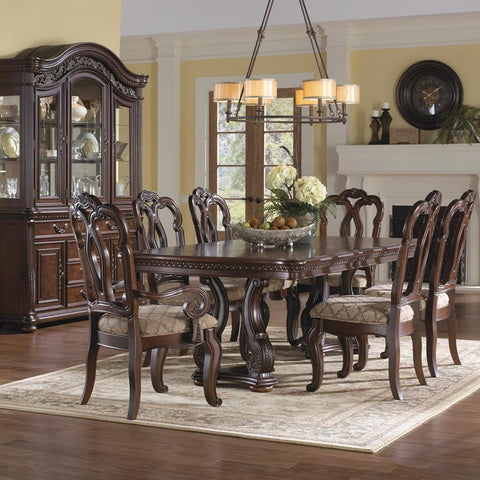 Pulaski San Marino Dining Table in Brown