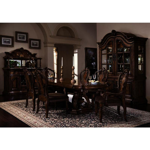 Pulaski San Mateo 9 Piece Double Pedestal Dining Room Set