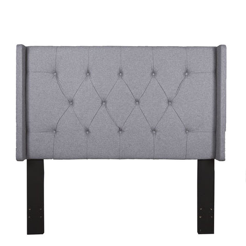 Pulaski Shelter Button Tufted Full / Queen Headboard in Heather Grey