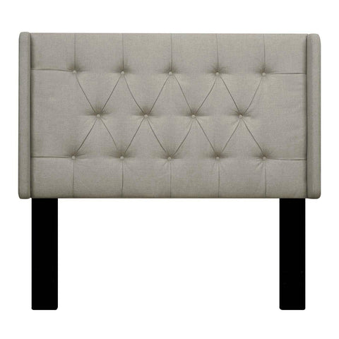 Pulaski Shelter Button Tufted Upholstered Headboard Linen