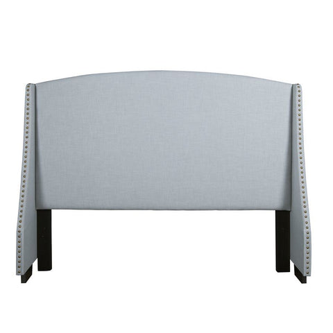 Pulaski Shelter Style Upholstered Headboard in Spa Blue