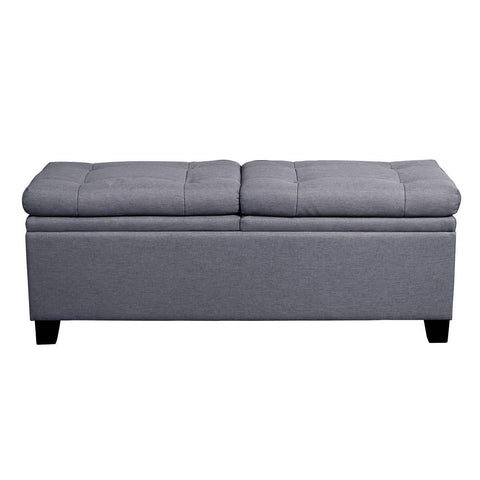 Pulaski Storage Upholstered Bed Bench Trespass Marmor