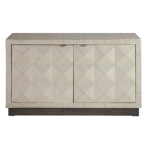 Pulaski Two Door Silver Accent Chest