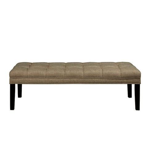 Pulaski Upholstered Buiscut Tufted Bed Bench