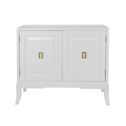 Pulaski White Two Door Accent Chest