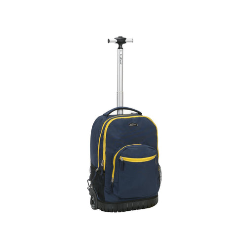 "Rockland 19"" Rolling Backpack In Navy"